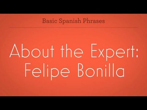 About the Expert: Felipe Bonilla