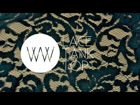How to Make a Lace Tank