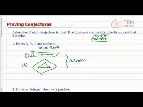 Prove Conjectures