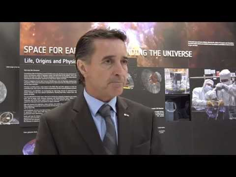 ESA at Farnborough 2012 - Fernando Doblas, Head of the ESA Communication Department