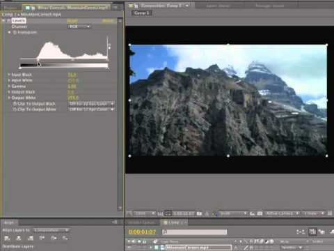After Effects CS5.5 Adjustment Levels Made Easy.