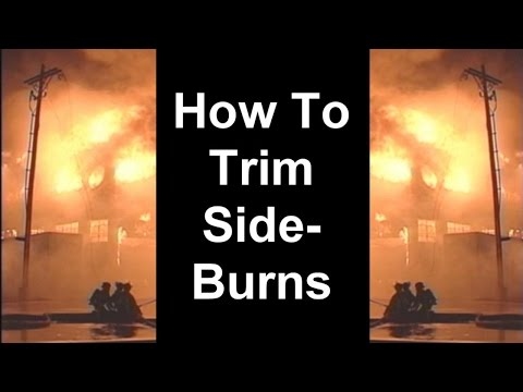 How To Trim Sideburns