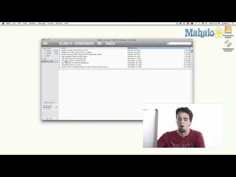 Mail - Setting up an Account - Learn Mac OS Snow Leopard