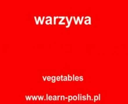 Polish vocabulary lessons