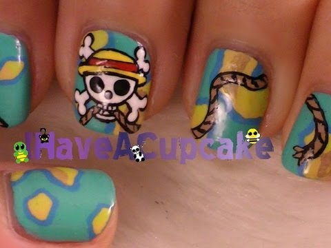 One Piece  Nail Art