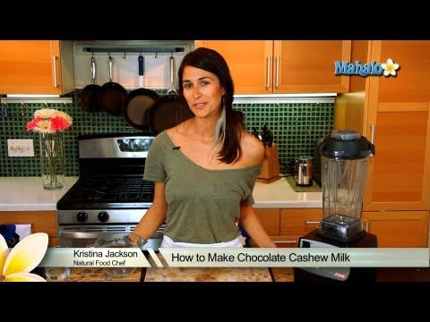 How to Make Chocolate Cashew Milk