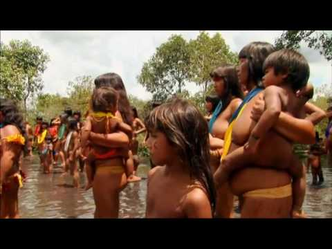 Brazil canoe race final - Last Man Standing - BBC