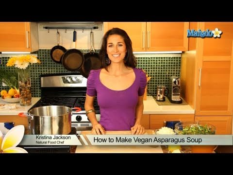 How to Make Vegan Asparagus Soup