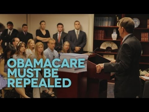 Sen. Jim DeMint's Rallying Cry to Repeal Obamacare