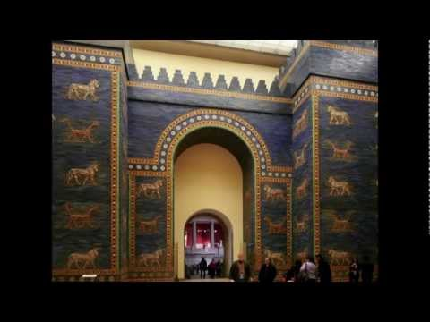 Ishtar Gate and Processional Way (reconstruction), Babylon, c. 575 B.C.E.