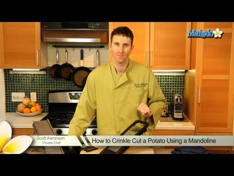 How to Crinkle Cut a Potato Using a Mandoline