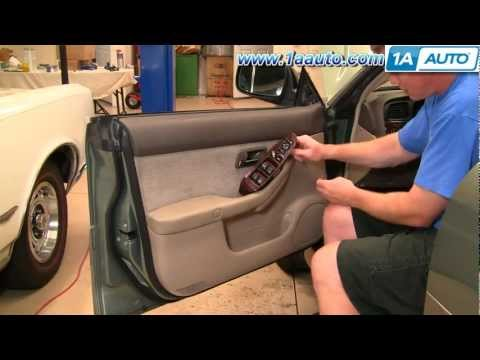 How To Install Replace Remove Door Panel Subaru Outback 00-04 1AAuto.com