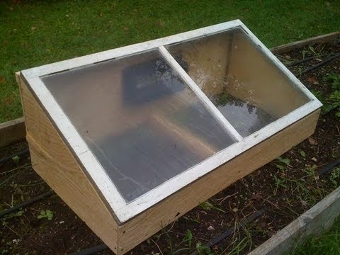 How to make a cold frame GardenFork.TV
