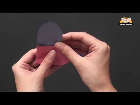 Learn to Kirigami a 3 x 3 Heart Pocket