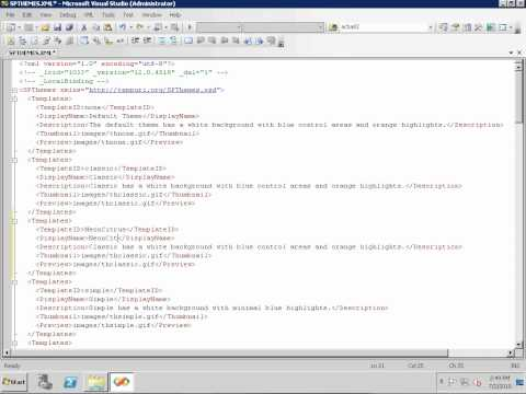 Create a Custom Theme for SharePoint 2007