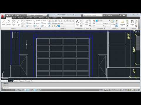 Create and Modify Objects — AutoCAD LT 2012