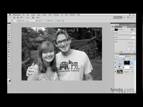 Photoshop CS5: Converting images to black-and-white | lynda.com tutorial