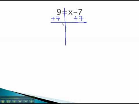 Linear Equations - One Step Equations - YouTube.mp4