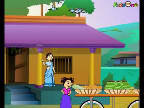 Vegetable seller - Animated Nursery Rhymes