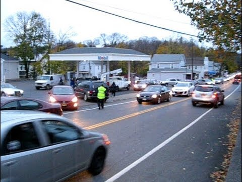 Hurricane Sandy Gas Crises - Upstate NY running out of gas