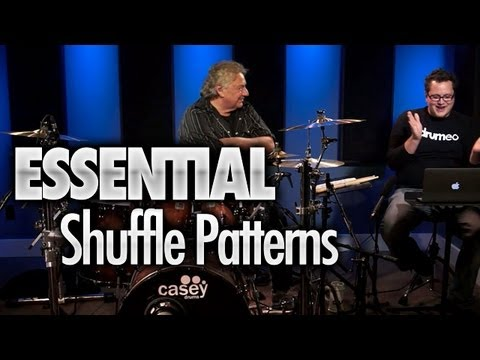 Essential Shuffle Patterns - Drum Lessons