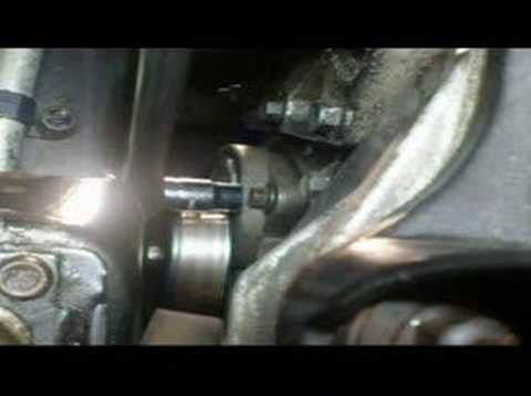 Serpentine Belt Tensioner Removal 2