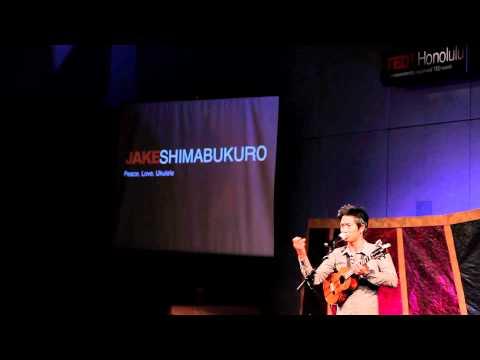 TEDxHonolulu - Jake Shimabukuro - Peace Love Ukulele