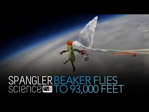 Beaker Flies to 93,000 Feet Above Earth - Cool Science Experiment