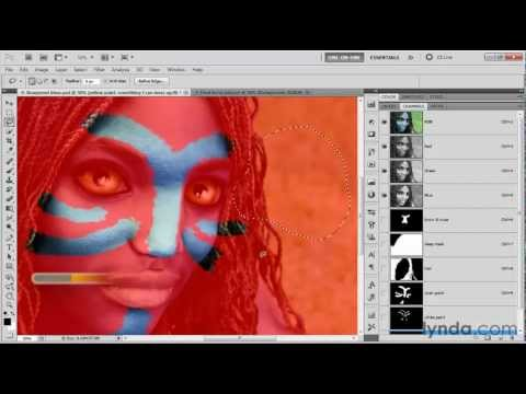 Photoshop tutorial: How to paint on a photograph | lynda.com