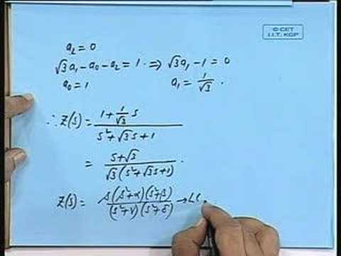 Lecture - 28 Parts of Network Functions (Contd.)
