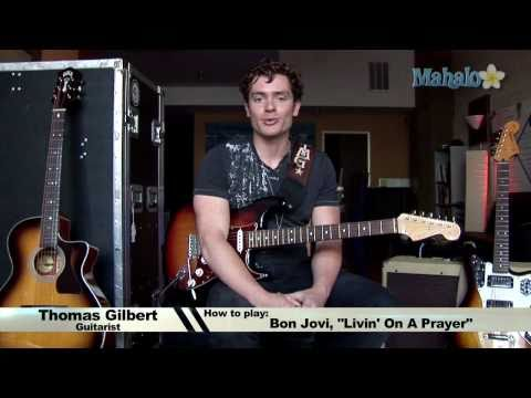 How To Play Livin' On A Prayer By Bon Jovi On Guitar