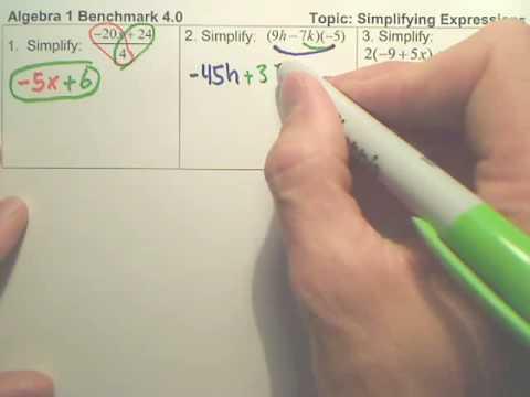Algebra 1   4