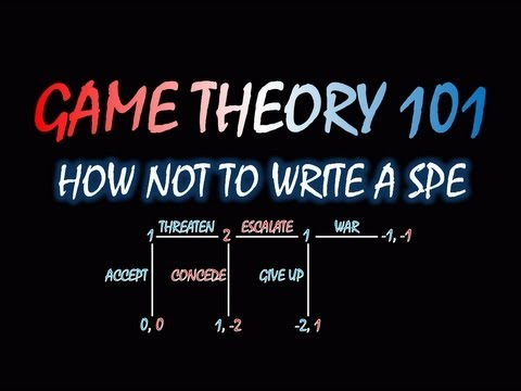 Game Theory 101: How NOT to Write a Subgame Perfect Equilibrium