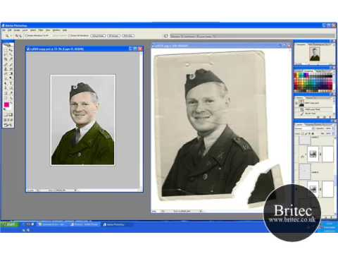 Photo Restoration of Soldier and Colorize Part 3