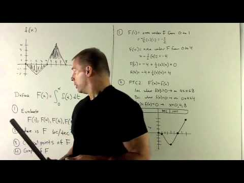 Example of 2nd Fundamental Theorem of Calculus 1