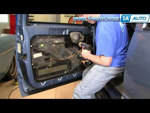How To Install Replace Inside Door Handle Chevy GMC Pickup Truck SUV 88-98 1AAuto.com