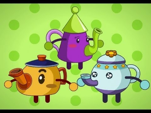 Muffin Songs - I'm A Little Teapot   | nursery rhymes & children songs with lyrics | muffin songs