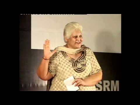 TEDxSRM - Neerja Malik - Spreading the Gift of Life & Living