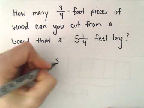 Dividing Fractions and Mixed Numbers, Ex 3