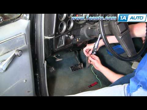 How To Install Replace Turn Signal Wiper Stalk Cruise Switch GM Car Truck SUV 1AAuto.com