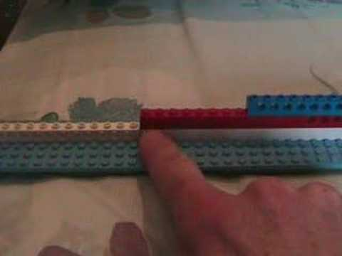 The structure of Dance music in Lego , video 2.