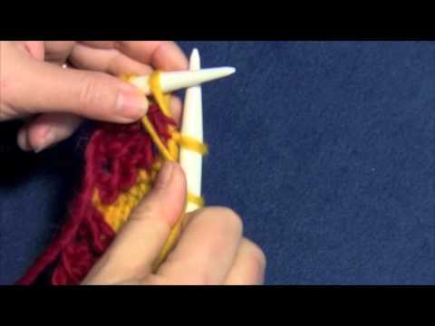 Entrelac Knitting Part Four -Right Edge Triangles