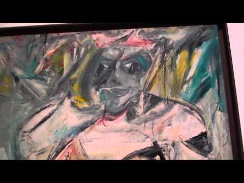 Willem de Kooning A Retrospective at MoMA Part II