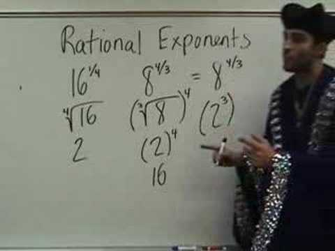 Algebra 2 - Rational Exponents