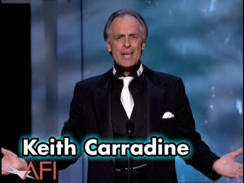 Keith Carradine Salutes Warren Beatty at the AFI Life Achievement Award
