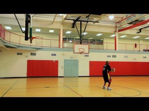 How to Play Basketball: Basketball Tricks / Backwards Free Throw