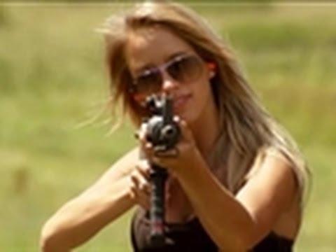American Guns - Paige's AR-15 Prize