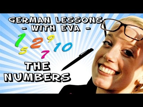 German lesson 7- the numbers