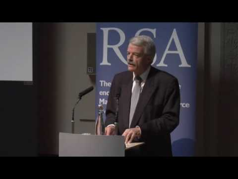 Jack Straw lecture welcoming the RSA Prison Learning Network - Part 1 of 5