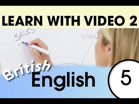 Learn British English with Video - Top 20 British English Verbs 3